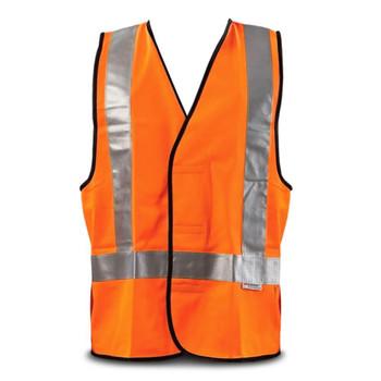 WorkIt Fluro Orange H-Back Day/Night Safety Vest