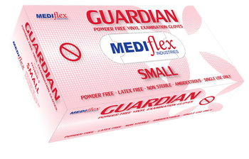 Guardian Powder Free Vinyl Gloves