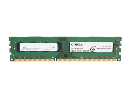 Crucial 4GB DDR3L SDRAM CT51264BD160B Memory Module