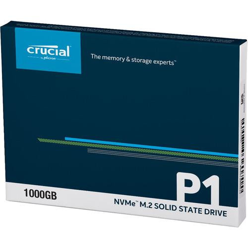 Crucial 1 TB Solid State Drive - PCI Express CT1000P1SSD8 - Internal - M.2 2280