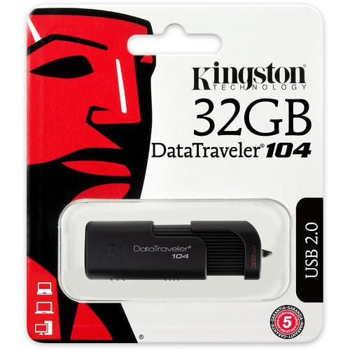 Kingston 32GB DT104/32GB USB 2.0 DataTraveler
