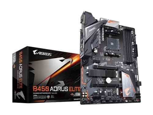 Aorus Ultra Durable B450 AORUS ELITE Desktop Motherboard - AMD Chipset - Socket AM4