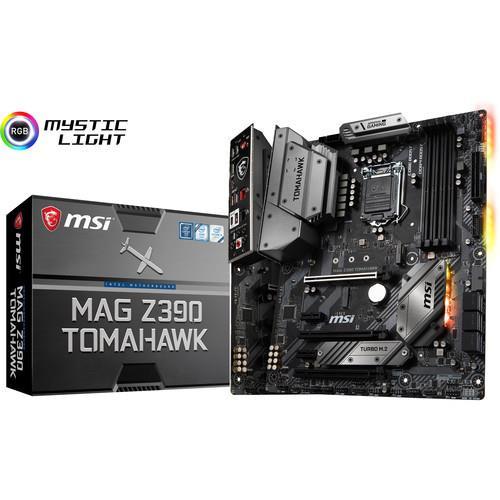 MSI MAG Z390 TOMAHAWK Desktop Motherboard - Intel Chipset - Socket H4 LGA-1151