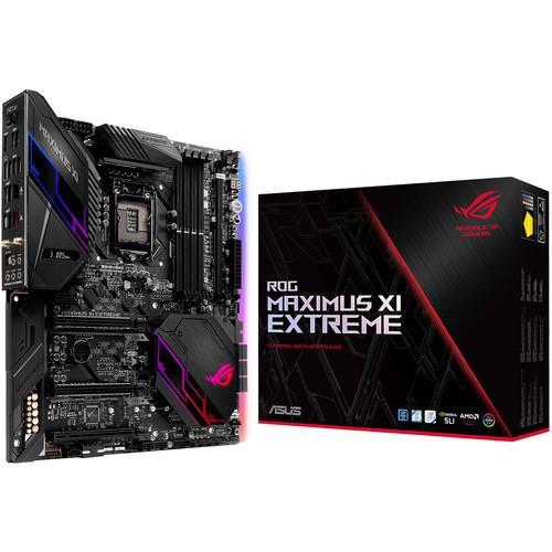 Asus ROG MAXIMUS XI EXTREME Desktop Motherboard - Intel Chipset - Socket H4 LGA-1151