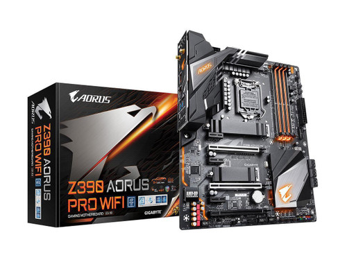 Gigabyte Aorus Ultra Durable Z390 AORUS PRO WIFI Desktop Motherboard - Intel Chipset - Socket H4 LGA-1151