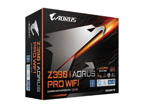Gigabyte Aorus Ultra Durable Z390 I AORUS PRO WIFI Desktop Motherboard - Intel Chipset - Socket H4 LGA-1151