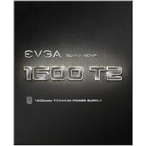 EVGA SuperNOVA 1600 T2 1600W 80 Plus Titanium Modular Power Supply