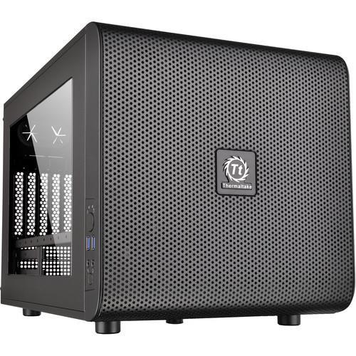 Thermaltake Core V21 Blk Extreme Micro ATX Computer Case CA-1D5-00S1WN-00