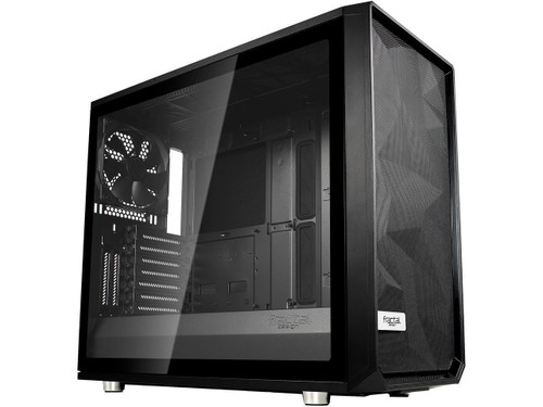 Fractal Design Meshify S2 - Tempered Glass Computer Case FD-CA-MESH-S2-BKO-TGL