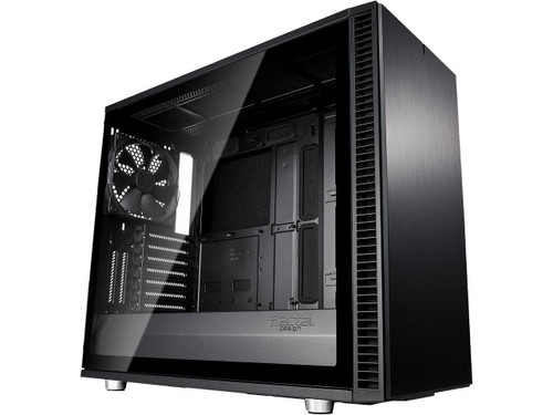 Fractal Design Define S2 - Tempered Glass Computer Case FD-CA-DEF-S2-BKO-TGL