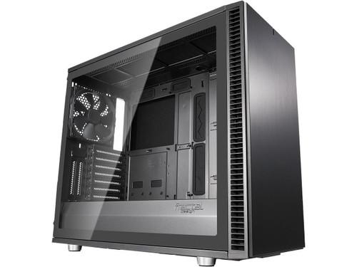Fractal Design Define S2 - Tempered Glass Computer Case FD-CA-DEF-S2-GY-TG