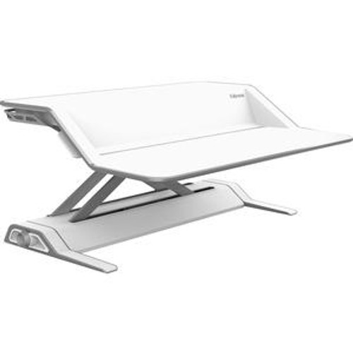 Fellowes Lotus 0009901 Sit Stand Workstation - White