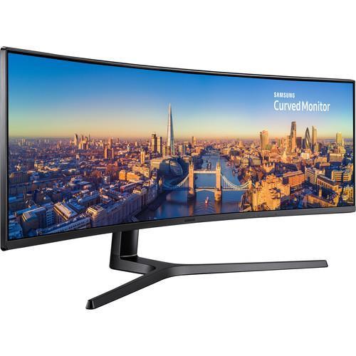 """Samsung IT 43"""" C43J890DKN Curved VA Panel 3840x1200"""