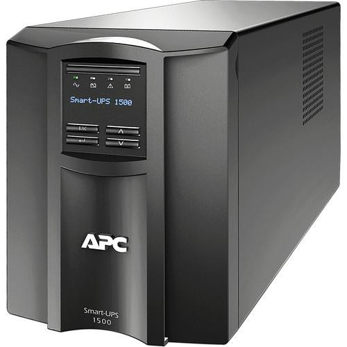 APC by Schneider Electric 1500VA Smart UPS SMT1500C LCD 120V