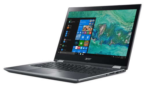 """Acer Spin 3 SP314-51-33GR 14"""" Touchscreen 2 in 1 Laptop (2.20 GHz Intel Core-i3-8130U, 4 GB DDR4 SDRAM, 128 GB SSD, Windows 10 Home S Mode)"""