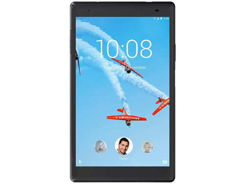"Lenovo Tab4 8 Plus ZA2H0000US Tablet - 8"" 2 GB RAM 16 GB Storage Android 7.1 Nougat 4G Slate Black"