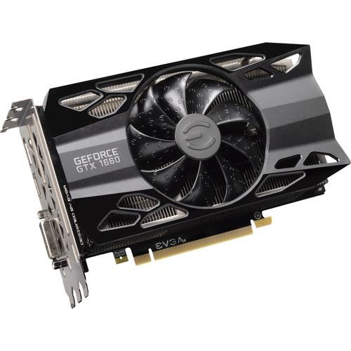 EVGA GeForce GTX 06G-P4-1161-KR 1660 Graphic Card - 1.79 GHz Boost Clock - 6 GB GDDR5