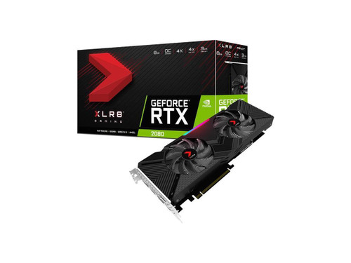 PNY GeForce RTX 2080 VCG20808DFPPB-O Graphic Card - 1.52 GHz Core - 1.71 GHz Boost Clock - 8 GB GDDR6