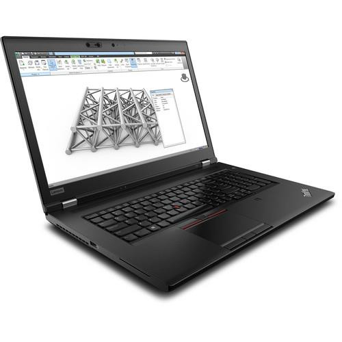 "Lenovo ThinkPad P72 20MB001VUS 17.3"" Mobile Workstation Laptop (2.70 GHz Intel Xeon E-2176M, 16 GB DDR4 SDRAM, 512 GB SSD, Windows 10 Pro)"
