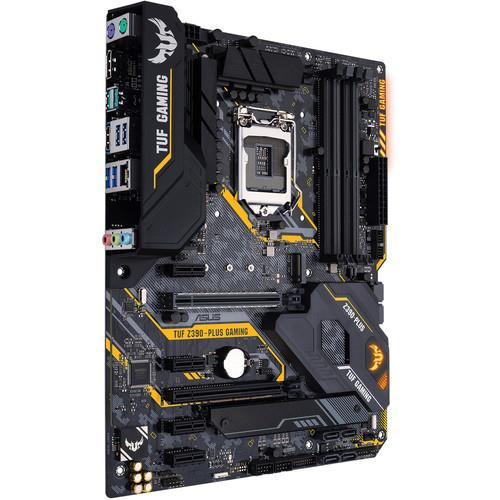 ASUS TeK TUF Z390-PLUS GAMING Desktop Motherboard - Intel Chipset - Socket H4 LGA-1151