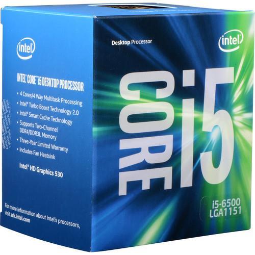 Intel Core i5 BX80662I56500 (6th Gen) i5-6500 Quad-core (4 Core) 3.20 GHz Processor - Retail Pack