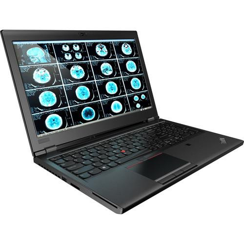 "Lenovo ThinkPad P52 20M90024US 15.6"" Touchscreen Mobile Workstation Laptop (2.60 GHz Intel Core-i7-8850H, 16 GB DDR4 SDRAM, 1 TB HDD, 512 GB SSD, Windows 10 Pro)"