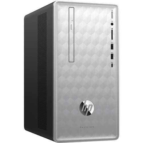 HP Pavilion 590-p0050 3LA16AA#ABA Desktop (2.80 GHz Intel Core-i5-8400, 8 GB DDR4 SDRAM, 1 TB HDD, 16 GB SSD, Windows 10 Home)