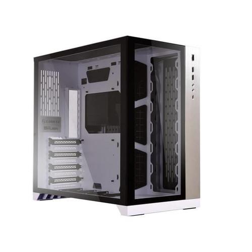 Lian Li PC-O11 Dynamic PC-O11DW No Power Supply ATX Mid Tower (White)