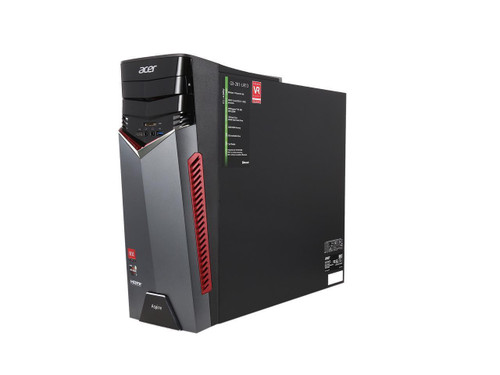 Acer Aspire GX-281 Desktop (3.40 GHz AMD Ryzen-7-1700X, 16 GB DDR4 SDRAM, 1 TB HDD - 256 GB SSD, Windows 10 Home)