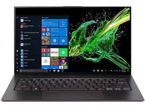 "Acer Swift 7 SF714-52T-70CE NX.H98AA.003 14"" Touchscreen Laptop (1.50 GHz Intel Core-i7-8500Y, 16 GB DDR4 SDRAM, 512 GB DDR4 SDSSD, Windows 10 Pro)"