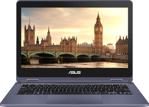 "Asus VivoBook Flip 12 J202NA-DH01T 11.6"" Touchscreen Laptop (1.10 GHz Intel Celeron N3350, 4 GB DDR3 SDRAM, 64 GB Flash Memory, Windows 10 S)"