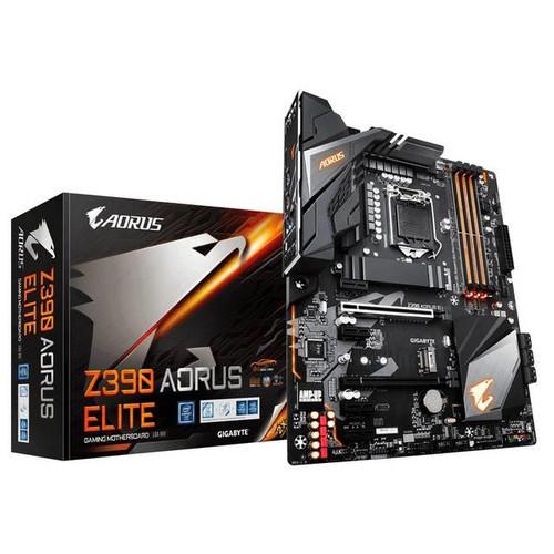Gigabyte Aorus Ultra Durable Z390 AORUS ELITE Desktop Motherboard - Intel Chipset - Socket H4 LGA-1151