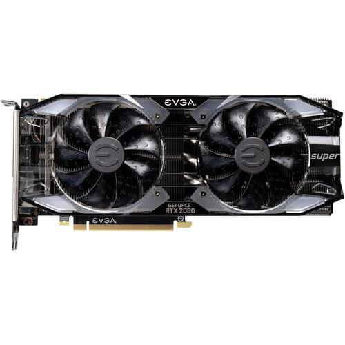 EVGA GeForce RTX 2080 08G-P4-3182-KR Super Graphic Card - 8 GB GDDR6