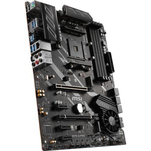 MSI X570-A PRO Desktop Motherboard - AMD Chipset - Socket AM4