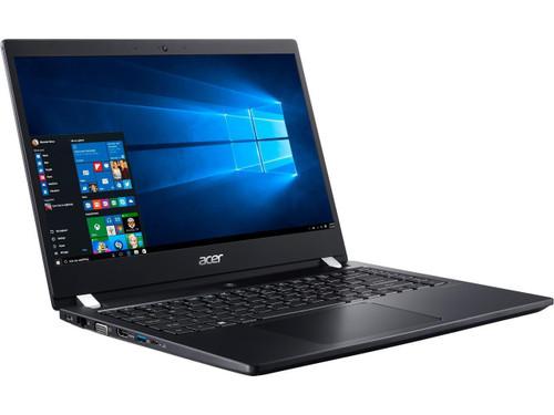 """Acer TravelMate NX.VHJAA.005 TMX3410-M-866T 14"""" Laptop (1.80 GHz Intel Core-i7-8550U, 16 GB DDR4 SDRAM, 512 GB SSD, Windows 10 Pro)"""