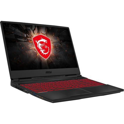 "MSI GL65 9SD-027 15.6"" Gaming Laptop (2.30 GHz Intel Core-i5-9300H, 8 GB DDR4 SDRAM, 512 GB SSD, Windows 10 Home)"