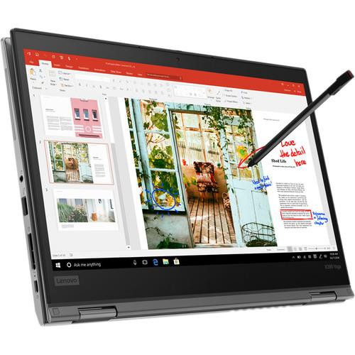"Lenovo ThinkPad X390 Yoga 20NN0010US 13.3"" Touchscreen 2 in 1 Laptop (1.80 GHz Intel Core-i7-8565U, 16 GB DDR4 SDRAM, 512 GB SSD, Windows 10 Pro)"