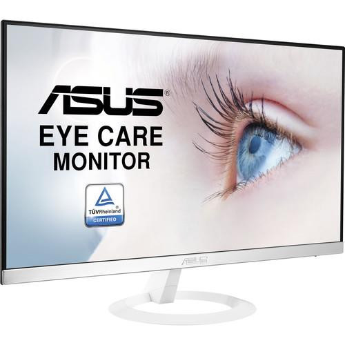 Asus VZ239H-W 23 inch Widescreen 5ms VGA/HDMI LCD Monitor, w/Speakers (White)