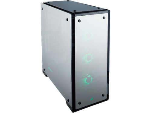 CORSAIR Crystal Series 570X RGB Mirror Black Tempered Glass, Premium ATX Mid Tower Case