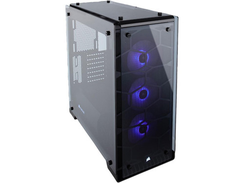 Corsair Crystal Series 570X RGB CC-9011098-WW Steel / Tempered Glass ATX Mid Tower Case