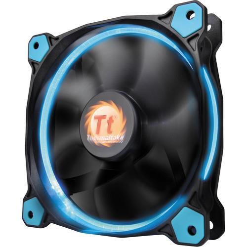 Thermaltake Riing 14 LED CL-F039-PL14BU-A 140mm Radiator Fan (Blue)
