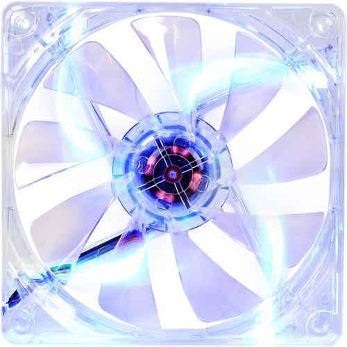 Thermaltake Pure CL-F012-PL12BU-A 12 LED DC Fan- Blue