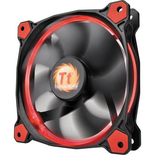 Thermaltake Riing 12 LED CL-F038-PL12RE-A 120mm Radiator Fan (Red)