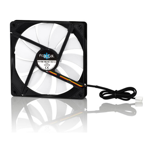 Fractal Design FD-FAN-SSR2-140-BK SSeries Blkout Ed R2 140mm Fan