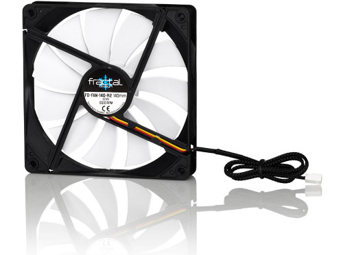 Fractal Design FD-FAN-SSR2-140 Silent Series R2 140mm Cooling Fan White