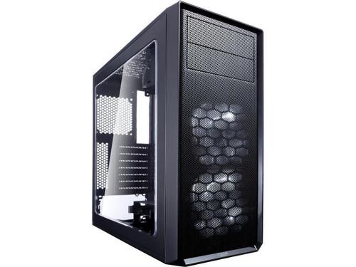 Fractal Design FD-CA-FOCUS-BK-W Focus G Computer Case with Side Window