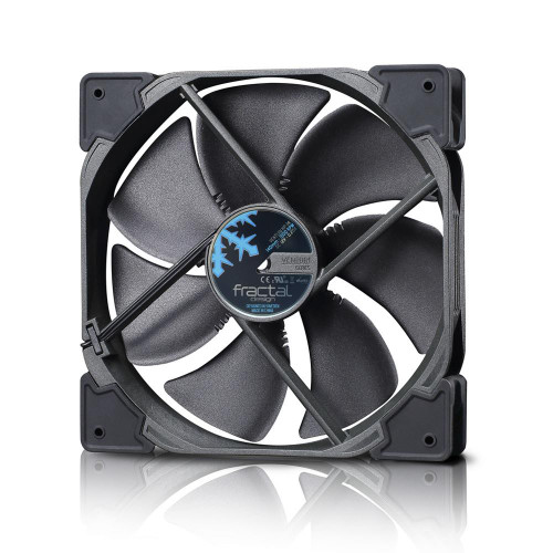 Fractal Design Venturi HP-14 PWM Cooling Fan - Black