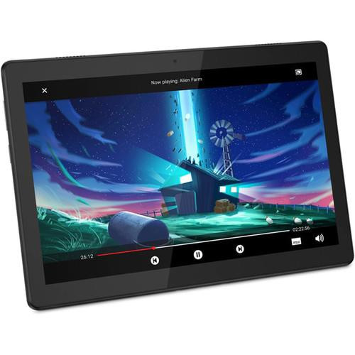 "Lenovo Tab M10 TB-X505F ZA4G0078US 10.1"" Tablet (2 GHZ ARM Coretex A53, 2 GB DDR3 SDRAM, 32 GB SSD, Android 9.0 Pie)"