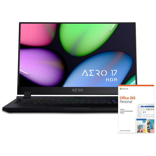 "Gigabyte AERO 17 HDR XA-7US4130SQ 17.3"" Laptop (2.6 GHz Intel Core-i7-9750H, 16 GB DDR4 SDRAM, 512 GB SSD, Windows 10 Pro)"