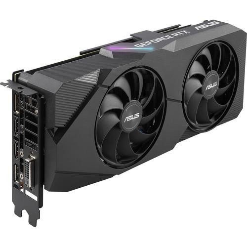 Asus Dual DUAL-RTX2060S-O8G-EVO GeForce RTX 2060 SUPER Graphic Card - 8 GB GDDR6